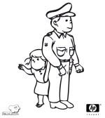 Dibujos Para Colorear De Seguridad