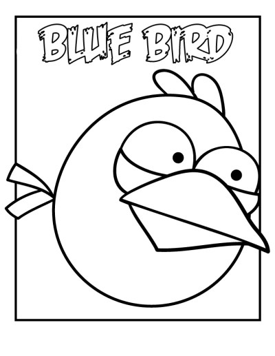Bird Coloring Pages For Preschoolers - AZ Coloring Pages
