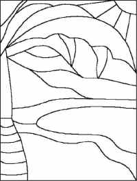 Stained Glass Window Template - Coloring Home