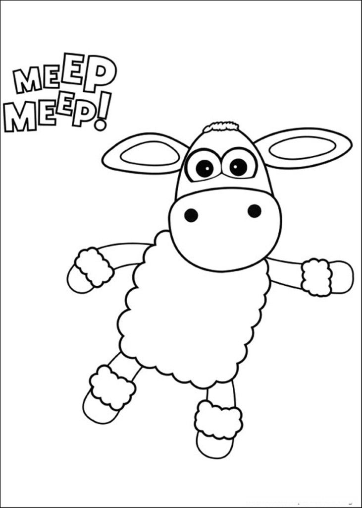 Timmy Time Coloring Pages - Car-essay