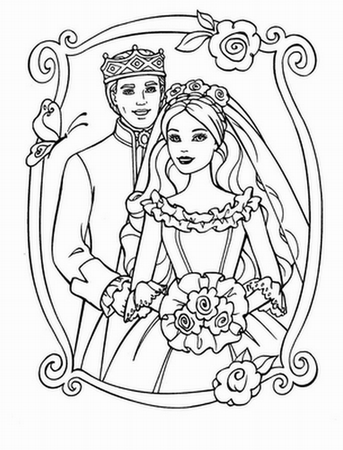 Wedding Color Pages Coloring Home