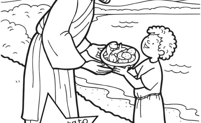 The 20 best jesus feeds 5000 coloring page gekimoe 34119 for Feeding the five thousand coloring pages
