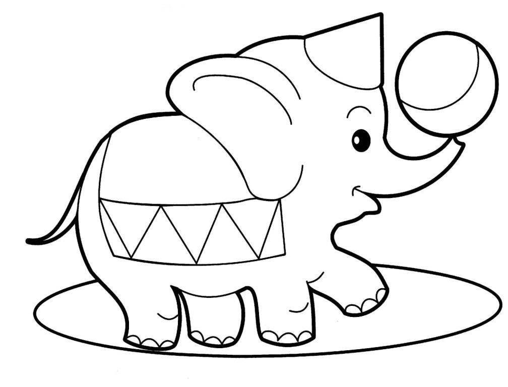 Coloring Pages Of Animals In Their Habitats