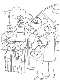 Holi Festival Coloring Pages Holi Coloring Pages