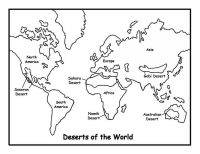 World Map Coloring Pages - AZ Coloring Pages