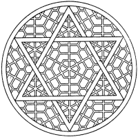 Intricate Mandala Coloring Pages - Coloring Home