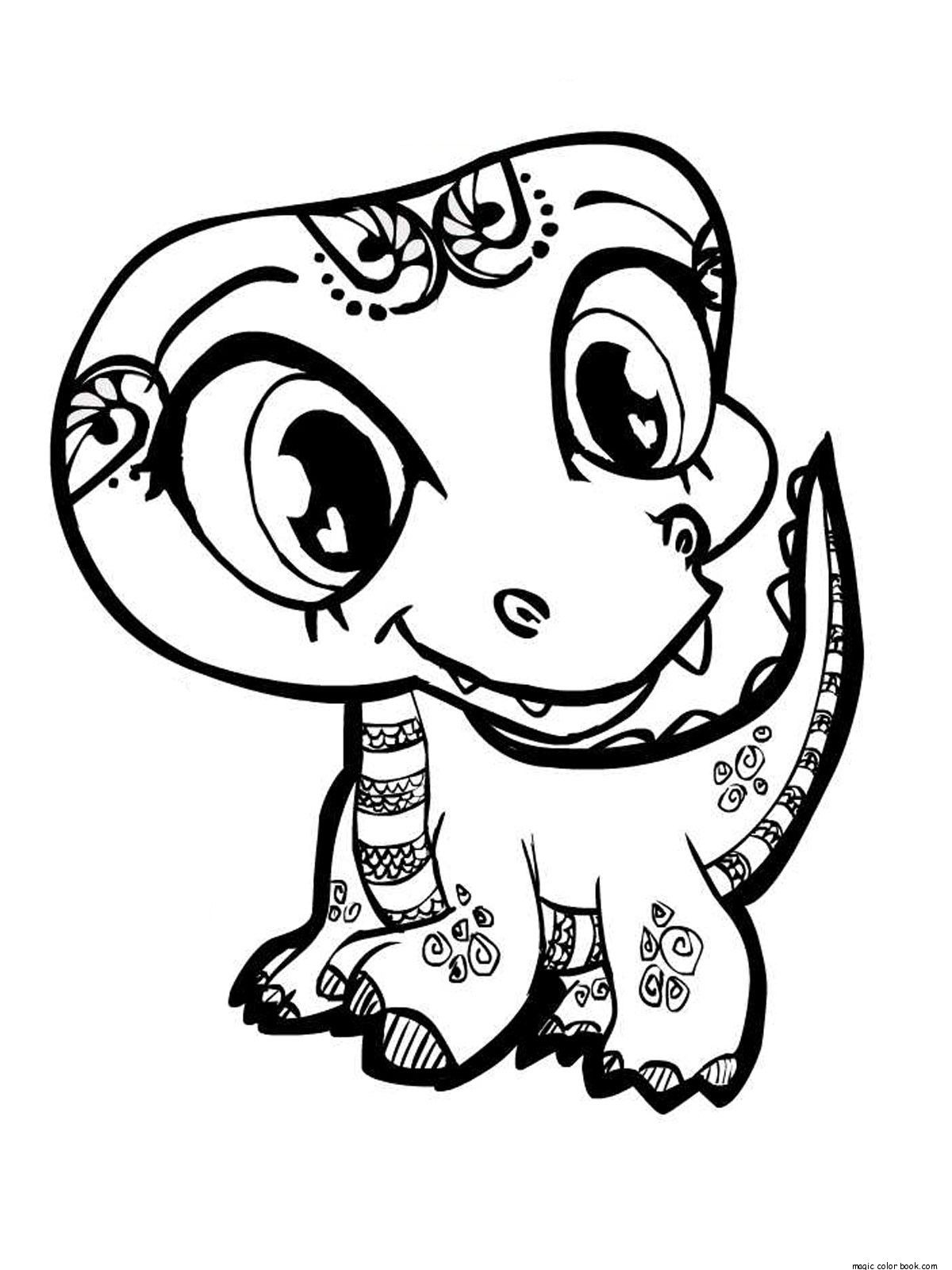 Best Little Pet Shop Coloring Page By Dog Pages Learn To