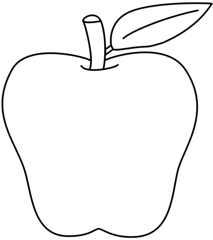 Cover Letter Apple Creative For 9 Apples Colouring Pages