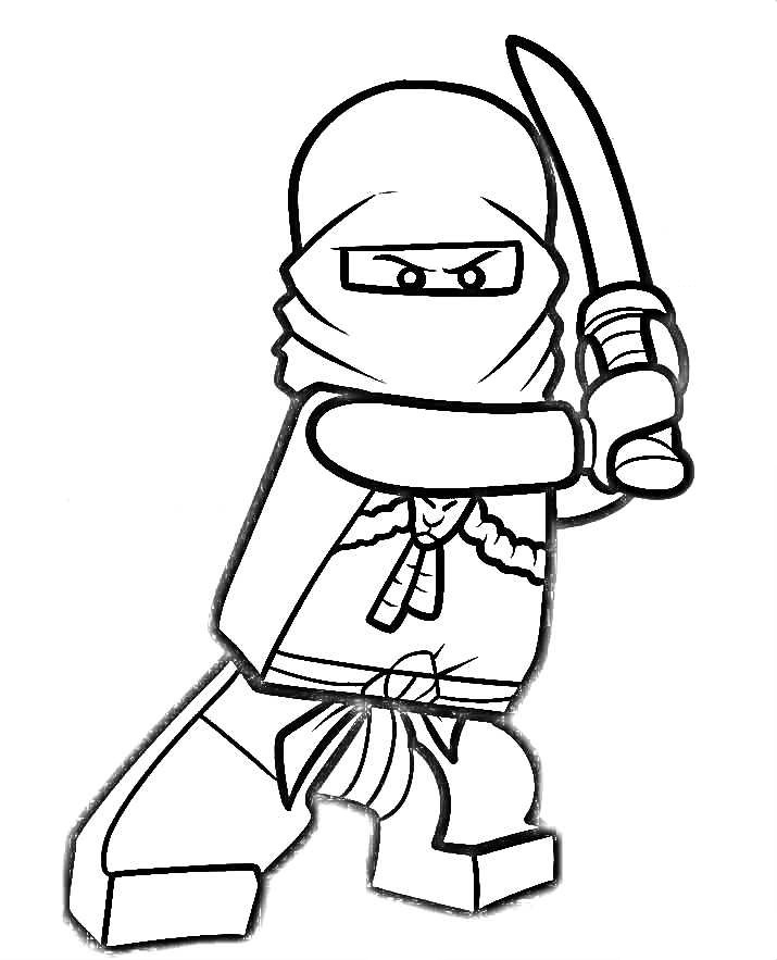 Printable Ninjago Coloring Pages Inspirational Coloring Auto
