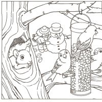 Free Printable Coloring Pages Of Winter Scenes - Coloring Home