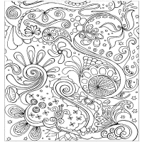 Intricate Coloring Pages Online - Coloring Home