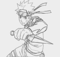 Printable Naruto Shippuden Coloring Pages - Coloring Home