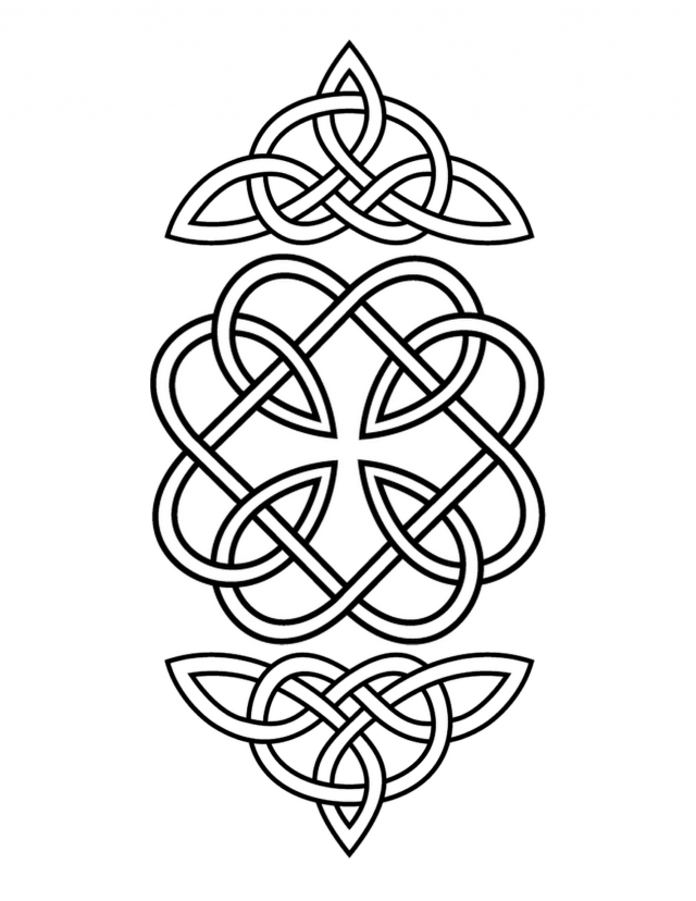 celtic irish patterns and knots