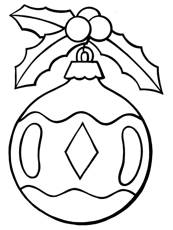 Coloring Pages Christmas Ornaments Wallpapers9
