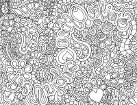Intricate Coloring Pages For Adults - Coloring Home