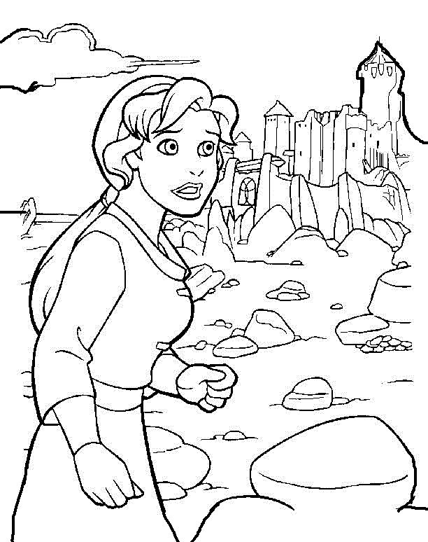 Quest For Camelot Coloring Pages - Eskayalitim