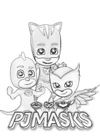 PJ Masks Coloring Pages - Coloring Home
