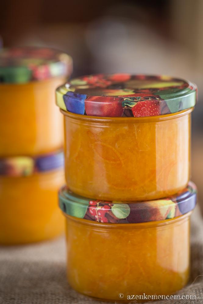 Lekvárfőzés télen : a narancslekvár