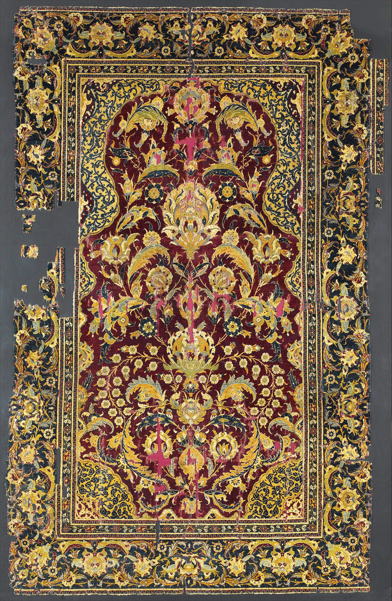 Arabische Teppiche Mcmullan Ottoman Cairene Prayer Rug Egypt Late 16th