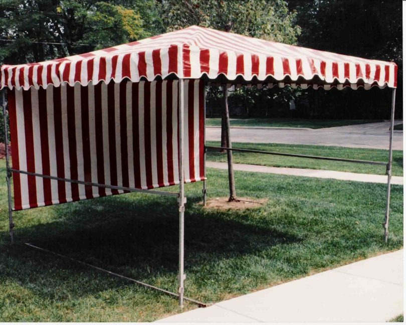 10'x10' Covered Booth (requires setup)