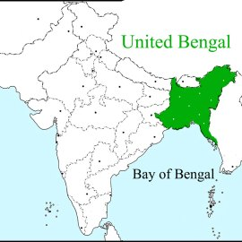 The Map Of United Bengal – The Forgotten History