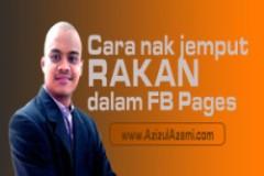 Cara Nak Jemput Semua Rakan Dalam Facebook Page