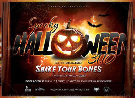20 Premium Halloween Flyer Templates AZMIND