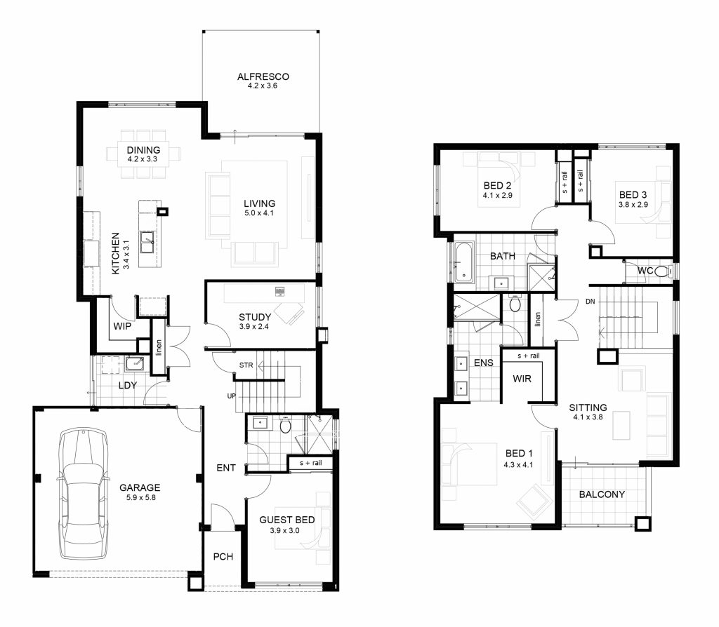 Us Homes Floor Plans Luxury Sample Floor Plans 2 Story Home New Home Plans Design
