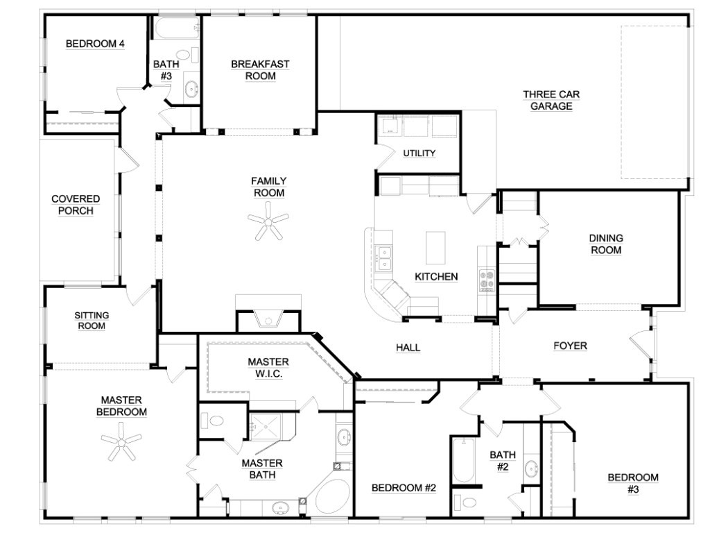 4 Bedroom Luxury House Plans Awesome 6 Bedroom Ranch House Plans New Home Plans Design