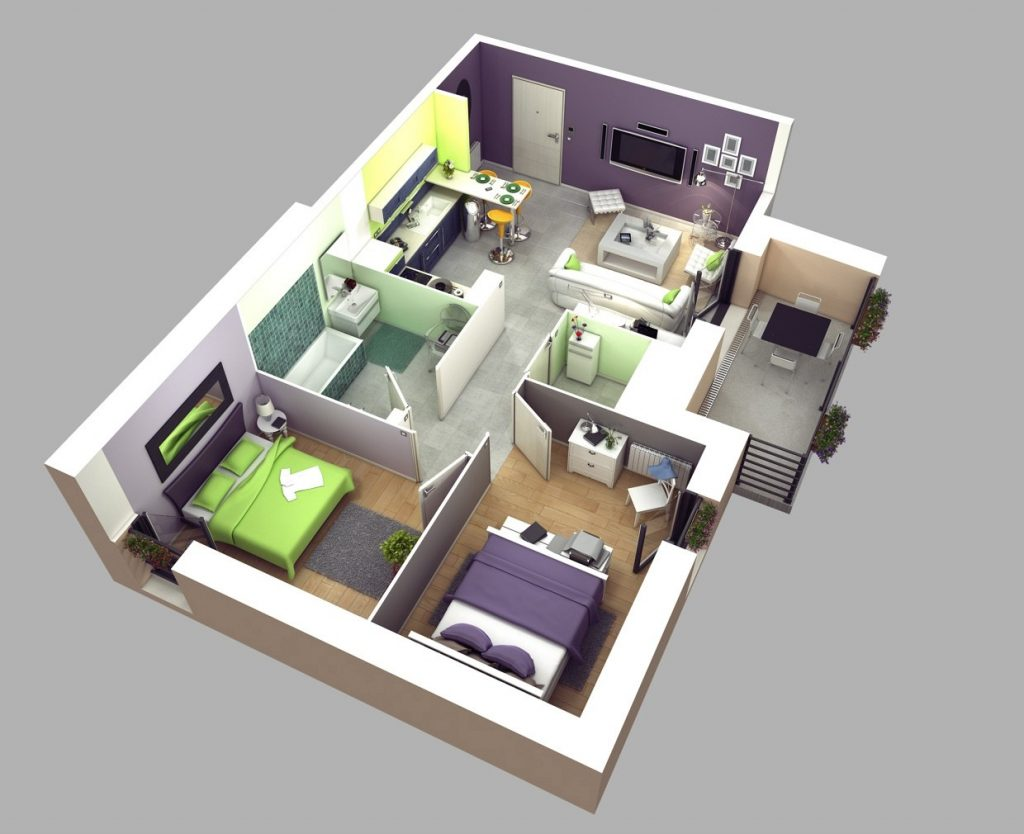 2 Bedroom Design Small House Small 2 Bedroom House Plans And Designs Inspirational 2