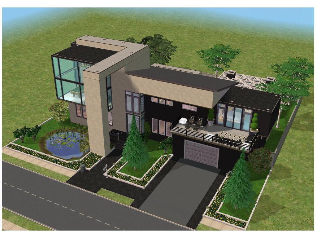 Modern House The Sims 3