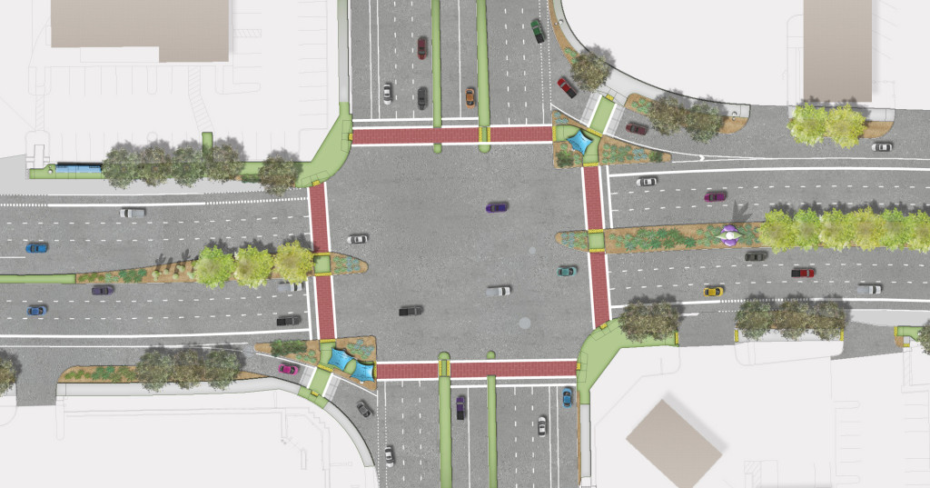 Grant Road Improvement Plan Landscape Design