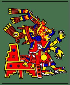 Aztec-Sun-God Nanahuatzin