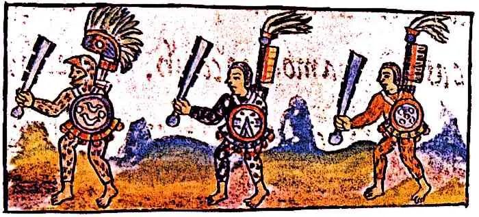 Florentine-Codex-IX-Aztec-Warriors