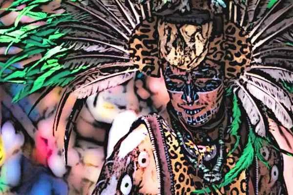 Aztec Dances Aztec Dancing