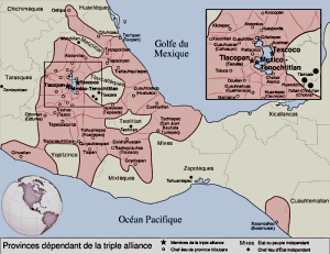 The-size-and-scope-of-the-Aztec-Empire-Map