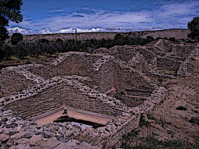 The Aztec Ruins National Monument
