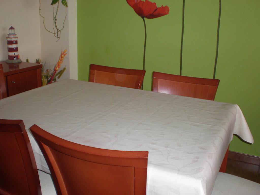 Hule Mesa Cocina   Mesa Con Sillas Para Restaurante Bar Cafetería Cocina