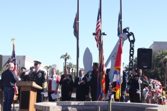 2015 Pearl Harbor Day Ceremony