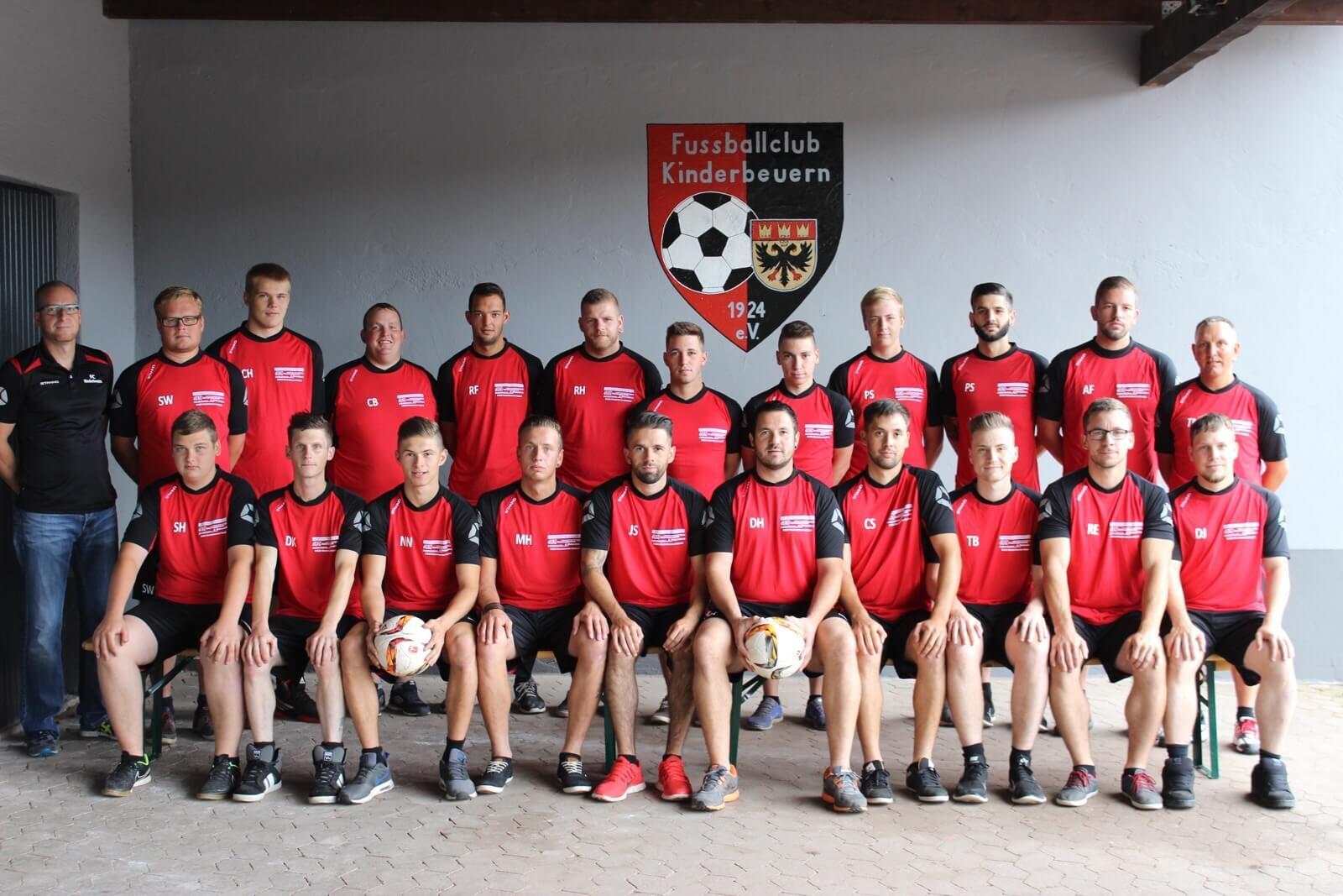 FC Kinderbeuern Mannschaftsfoto
