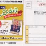 【終了】2017/9/3ライフコーポレーション(首都圏)・亀田製菓 魚沼十日町産こしひかりプレゼントキャンペーン