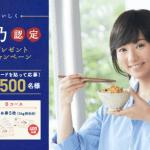 2018/11/30ヤマサ醤油 木村文乃認定お茶碗プレゼントキャンペーン