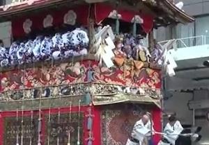 京都祇園祭山鉾巡行