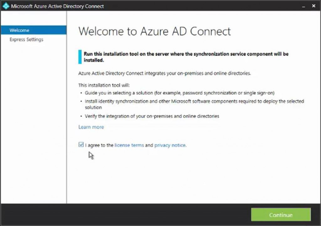 General availability Azure Active Directory Connect