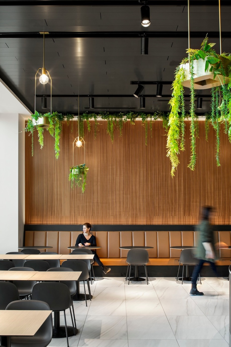 Cuisine Design La Cuisine In Quebec Combines Food Court With Upscale Food Hall