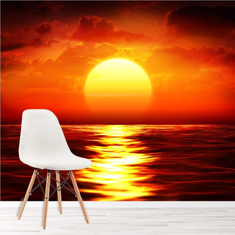 Fototapete Schlafzimmer Sonnenuntergang