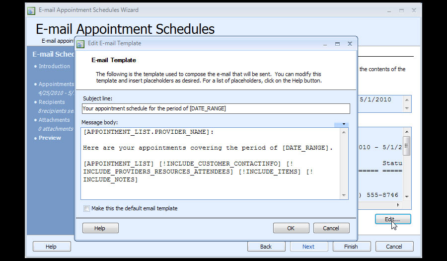 Appointment Scheduling Software - Business Appointment Manager
