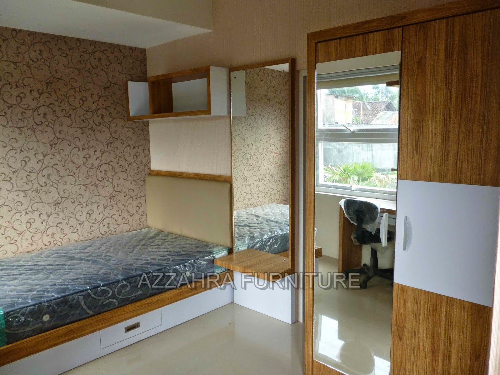 Design Kamar Kost Kecil Furniture Kamar Kost Costum Azzahra Furniture