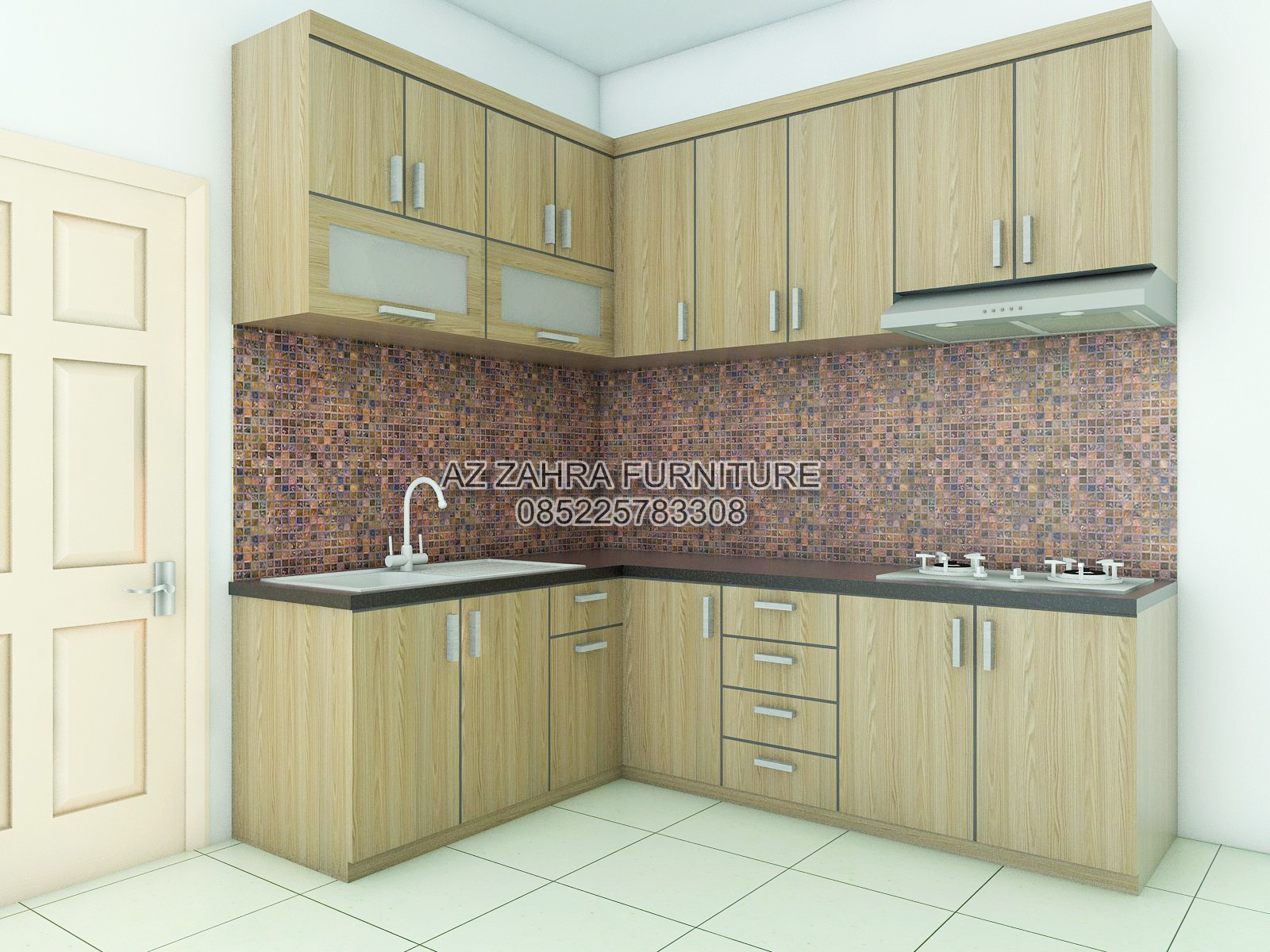Kitchen set minimalis murah semarang o cv azzahra furniture