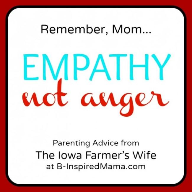 Iowa Farmer's Wife Parenting Advice on B-InspiredMama